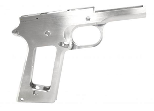 80% 1911 BILLET 7075 ALUMINUM FRAME GOVERNMENT